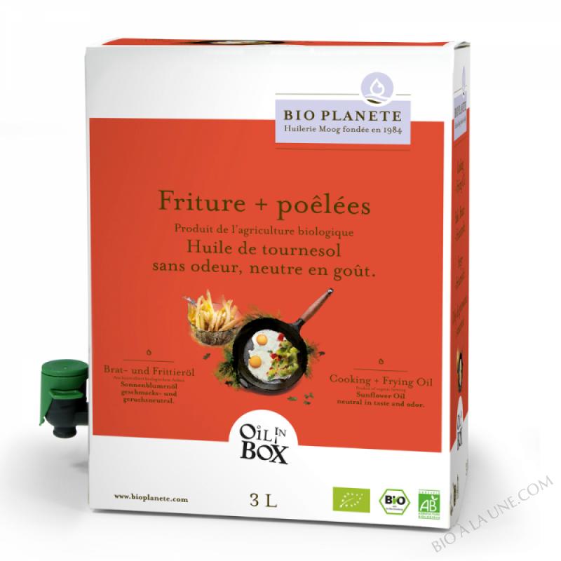 Huile de cuisson biologique/Bratoel, gedaempft
