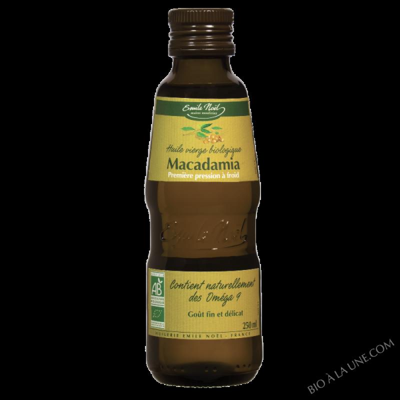 Huile de Macadamia Bio - 250ml
