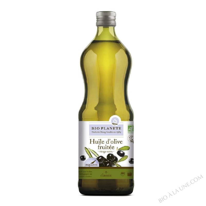 Huile d'olive vierge extra, Fruitée, biologique