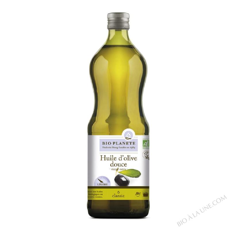 Huile d'olive vierge extra, douce. biologique