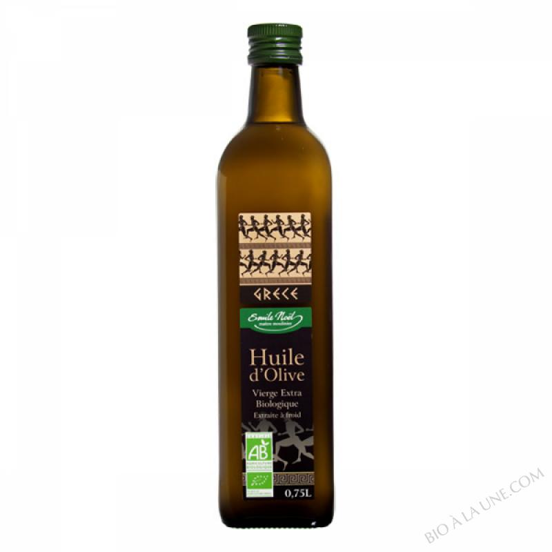 Huile d'olive vierge extra bio Grèce - Crête - 750ml