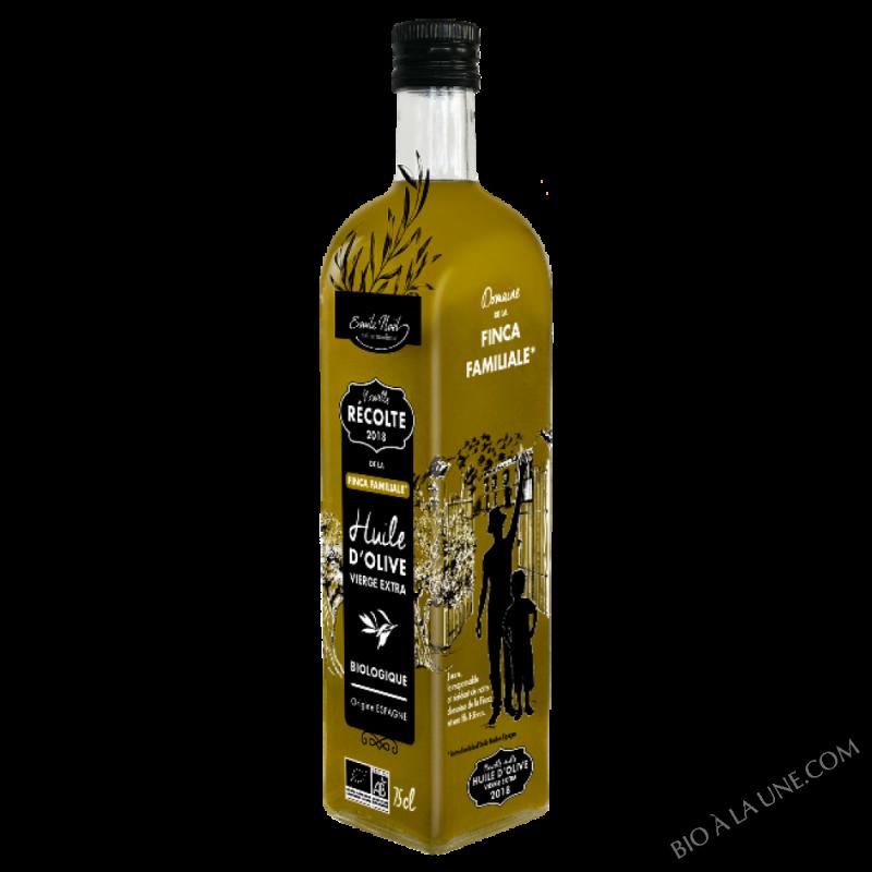 Huile d'olive Nouvelle Récolte bio 2018 - 750ml