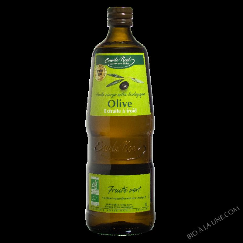 Huile d'olive vierge extra fruité vert bio - 1L