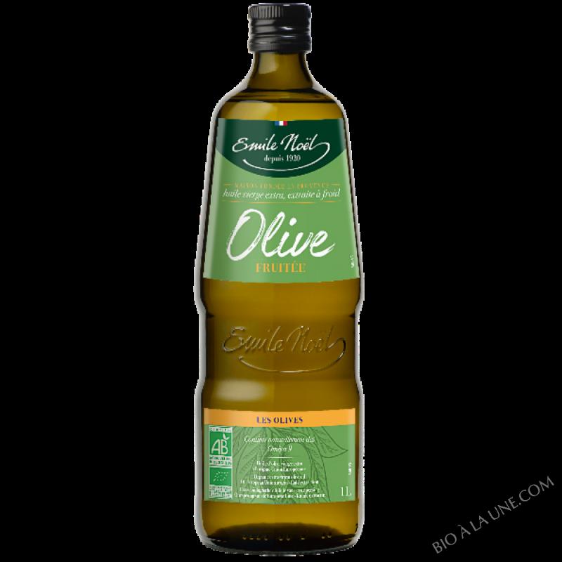 Huile d'Olive vierge extra fruitée bio - 1L