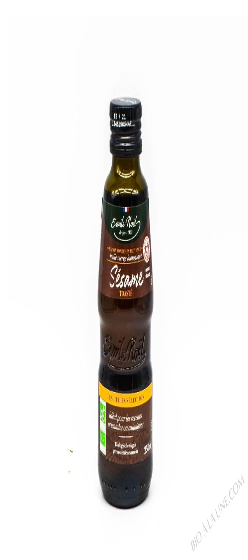 Huile vierge de sésame toasté bio - 250ml