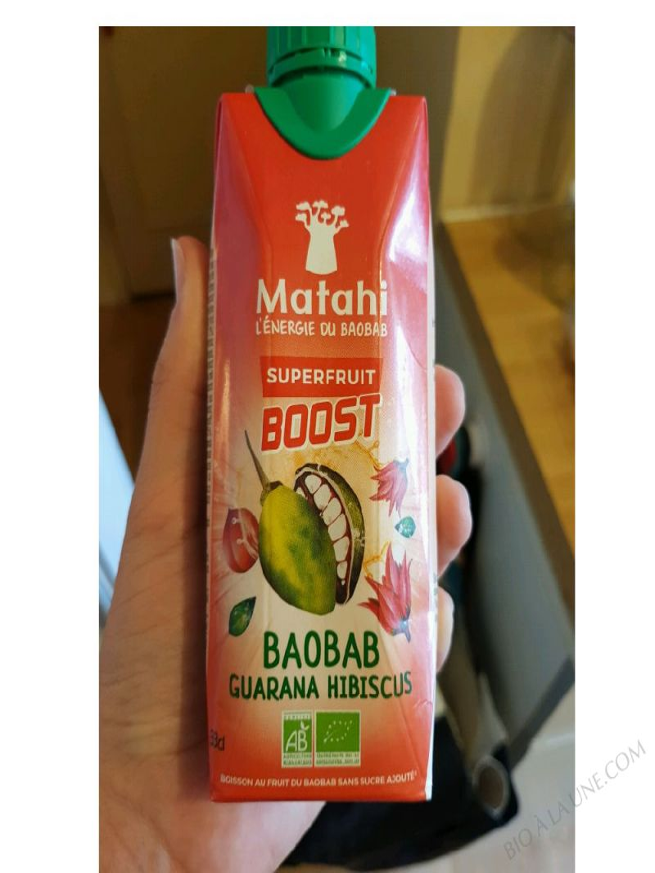 Superfruit Boost Baobab Guarana Hibiscus – 33cl