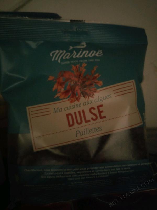 Ma Cuisine Aux Algues DULSE PAILLETTES  - 35g