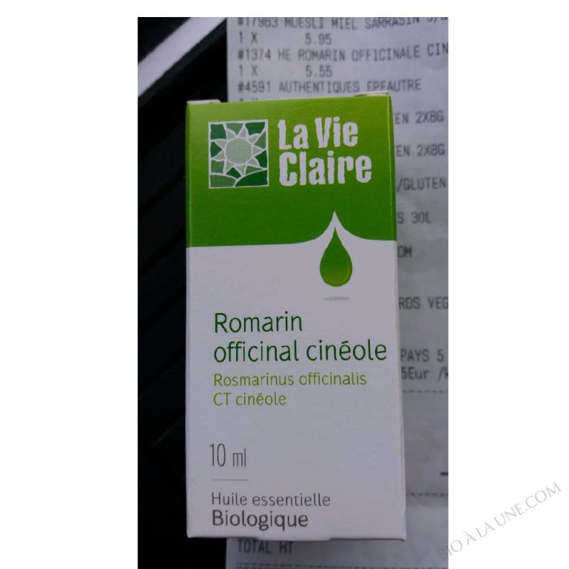 Organic Rosemary Officinalis - 10ml