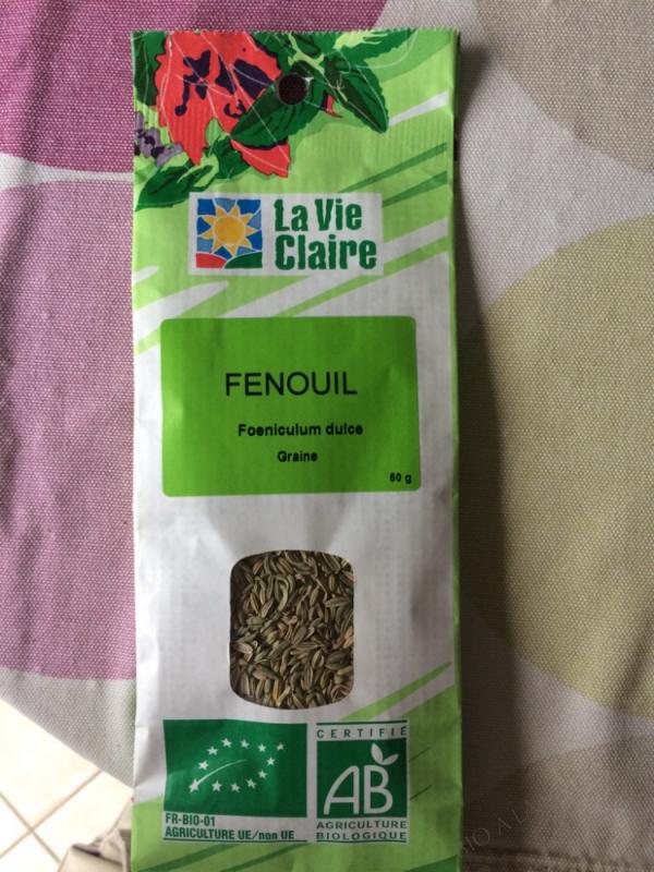 GRAINES FENOUIL - 50g