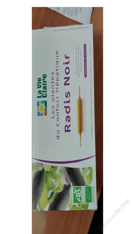 Extrait fluide de radis noir - 300ml