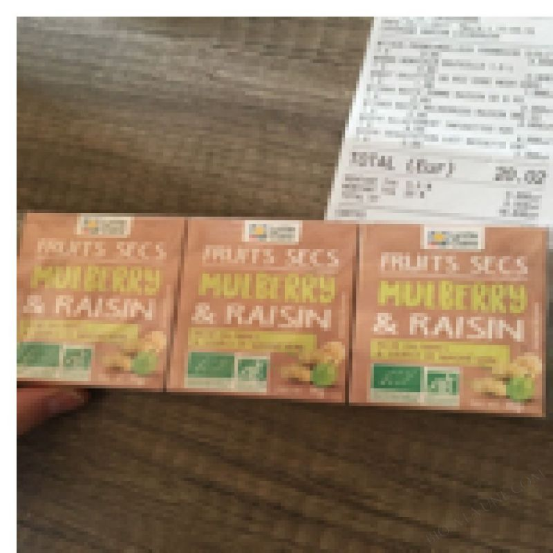 Fruits Secs Mulberry & Raisin - 3x38g