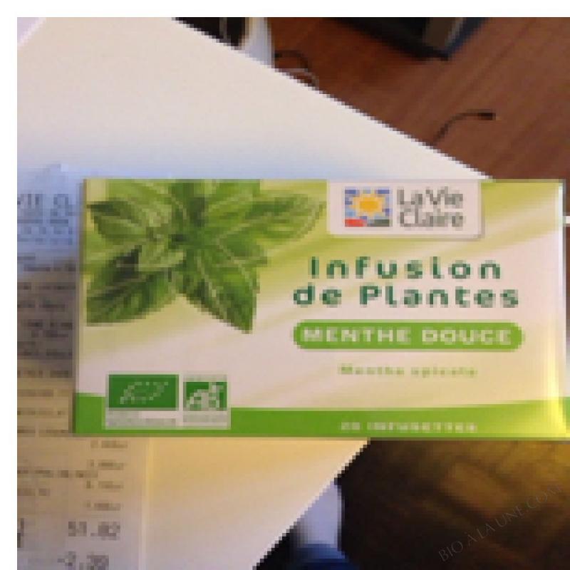 INFUSION DE PLANTES - 20 infusettes