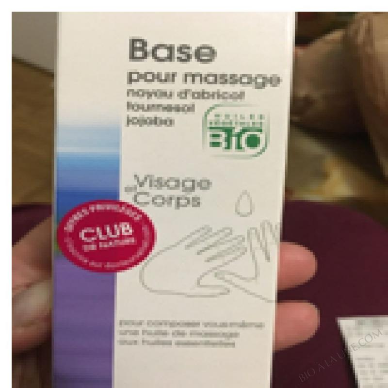 Huile De Massage Bio - 50ml