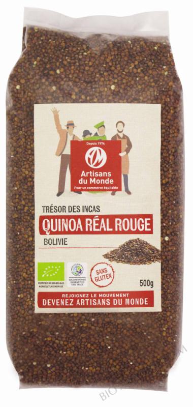 Quinoa de Bolivie réal rouge - 500g