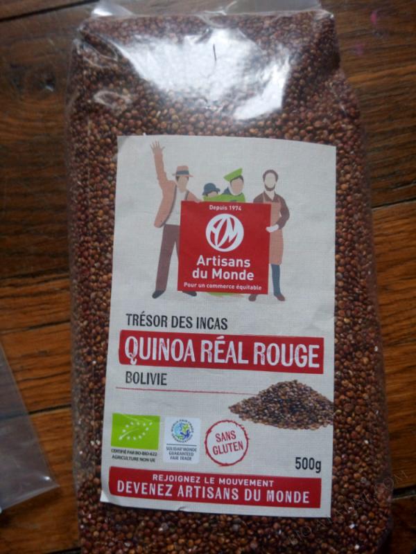 QUINOA RÉAL ROUGE - 500g