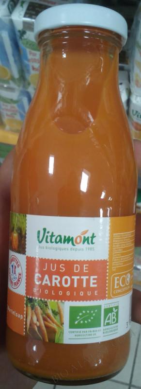 Jus de Carrotte- 25 cl