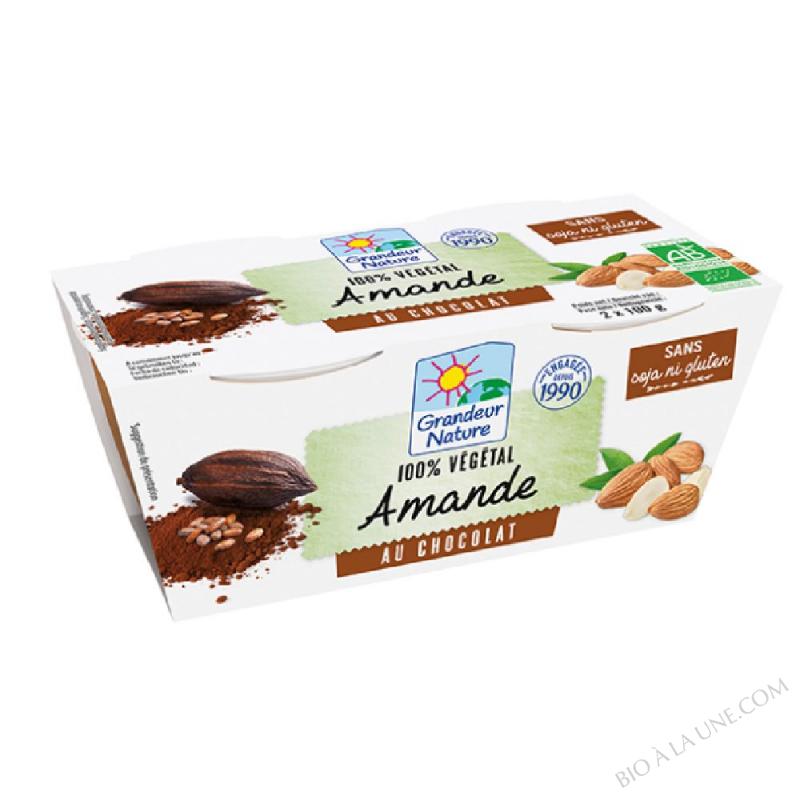 DESSERT VÉGÉTAL AMANDE CHOCOLAT 2X100G