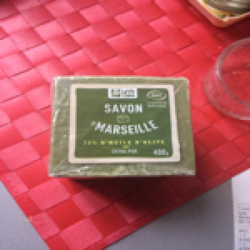 SAVON DE MARSEILLE OLIVE - 400g