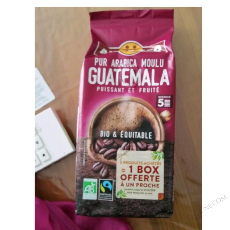 Pur Arabica Moulu CAFÉ GUATEMALA - 260g