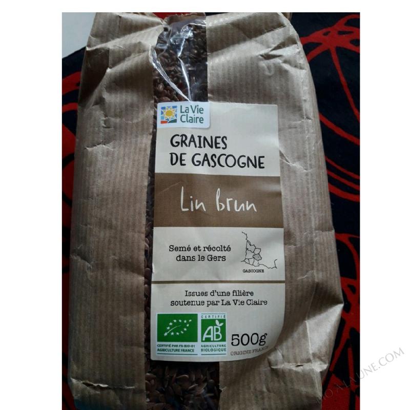 GRAINE DE Gascogne LIN BRUN - 500g