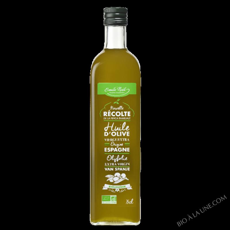 Huile d'olive Nouvelle récolte bio 2017 - 750ml