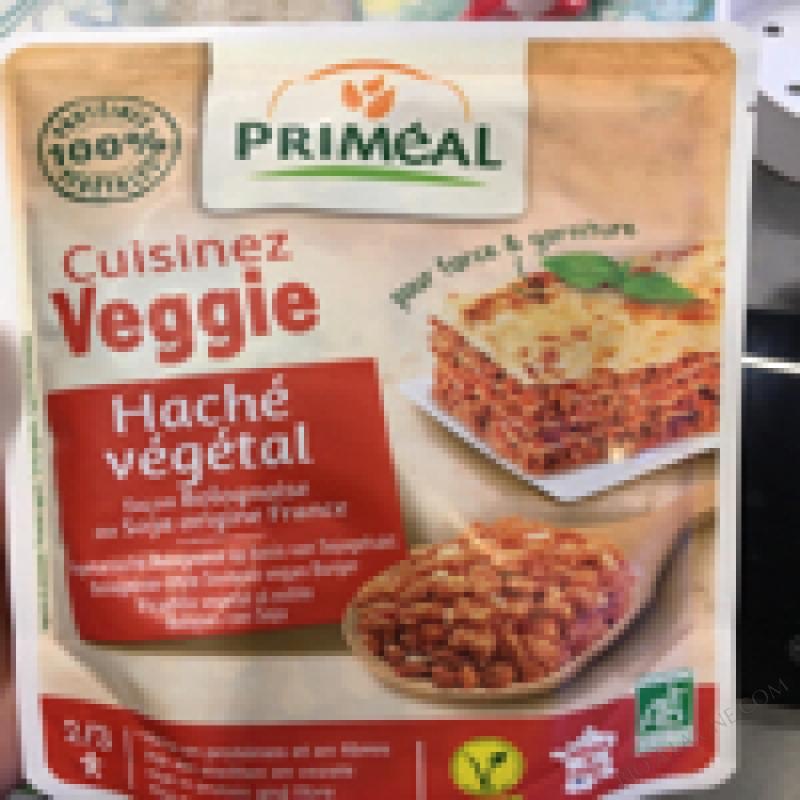 HACHE VEGETAL - PRIMEAL - 250G