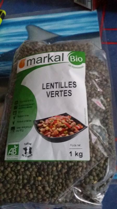 LENTILLES VERTES - 1KG