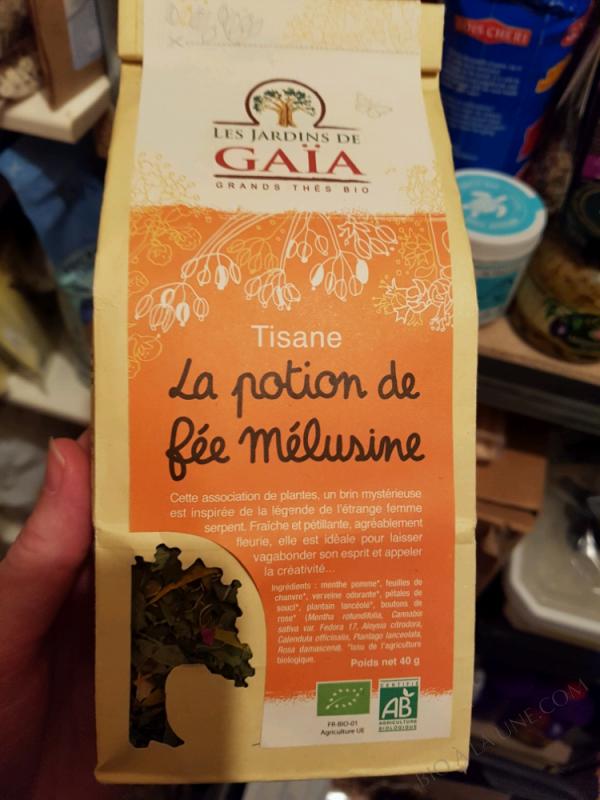 TISANE LA POTION DE FÉE MÉLUSINE - 40 G