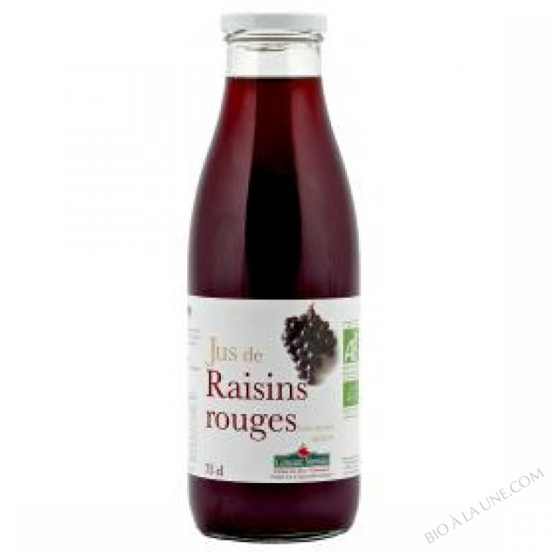 Jus raisins rouges Bio 75cl