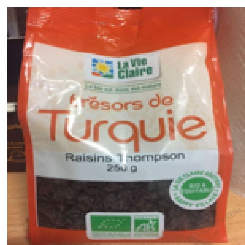 RAISINS THOMPSON - 250 G