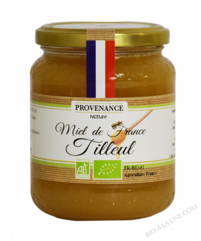 MIEL DE TILLEUL FRANCE BIO 500 GR