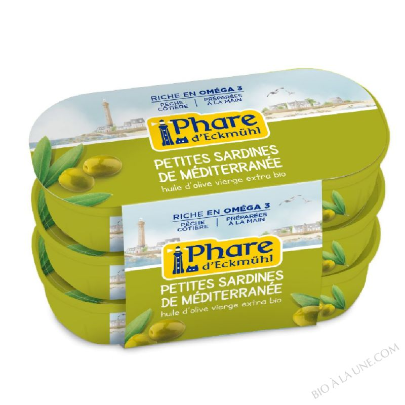 Petites sardines à l\'huile d\'olive - 55 G