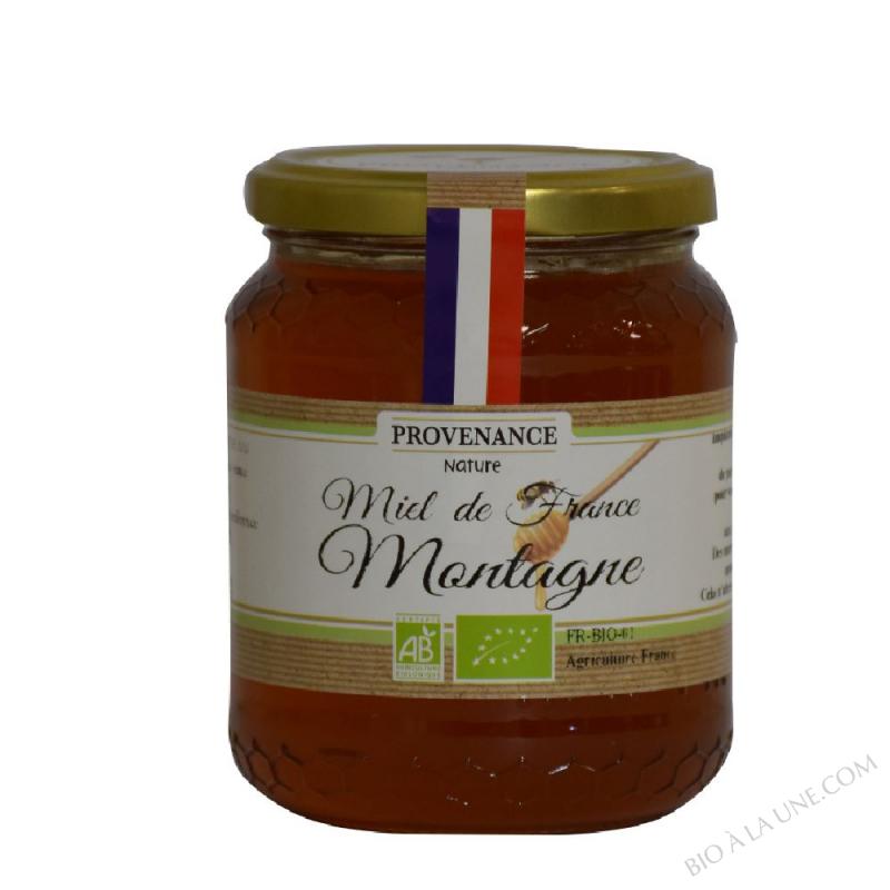 MIEL DE MONTAGNE FRANCE BIO 500 GR