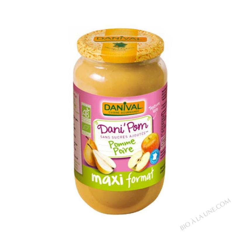 DANI'POM MAXI POMME POIRE - 1,075KG