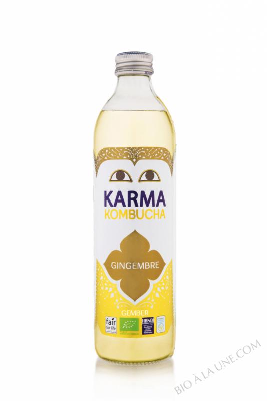 KOMBUCHA GINGEMBRE 500ML KARMA