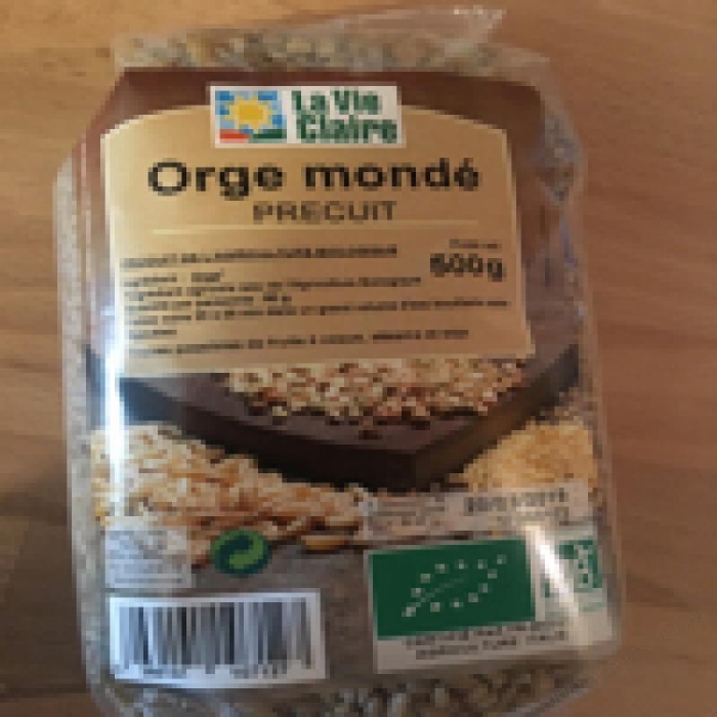 ORGE MONDÉ PRÉCUIT - 500G