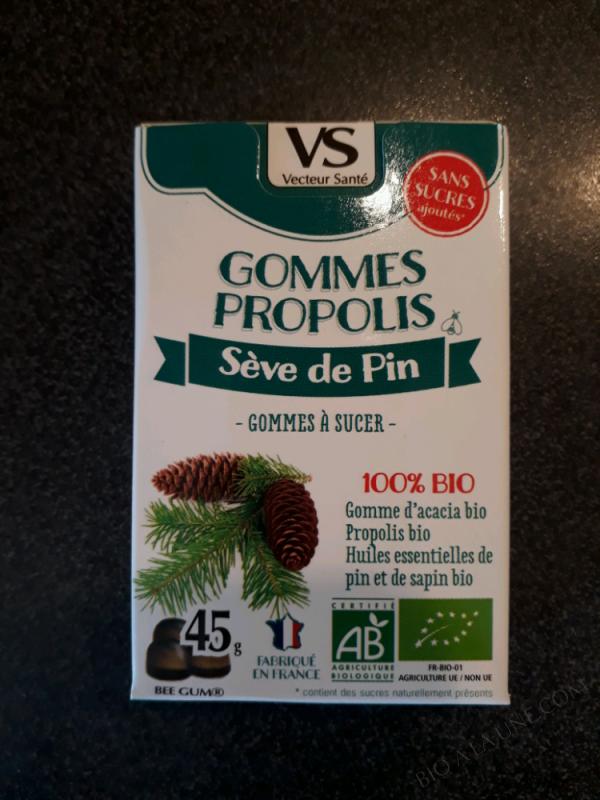 Gommes Propolis