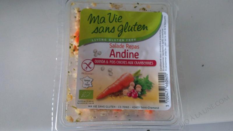 Salade Repas Andine