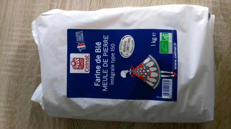 Farine De Blé Intégrale T150