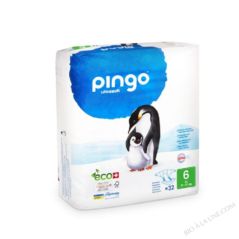 PINGO Couches Écologiques T6 XL (+ 25kg)
