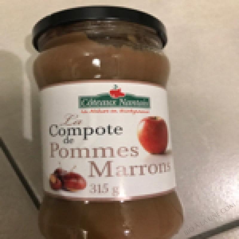 La Compote De Pomme Marrons - 315g