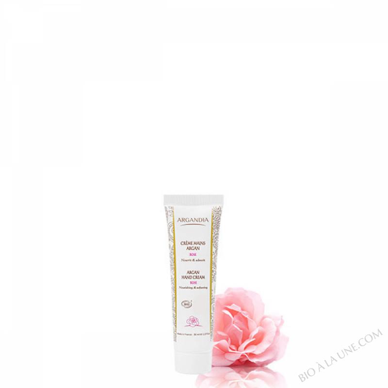 Crème Mains Argan Rose - 30 ml