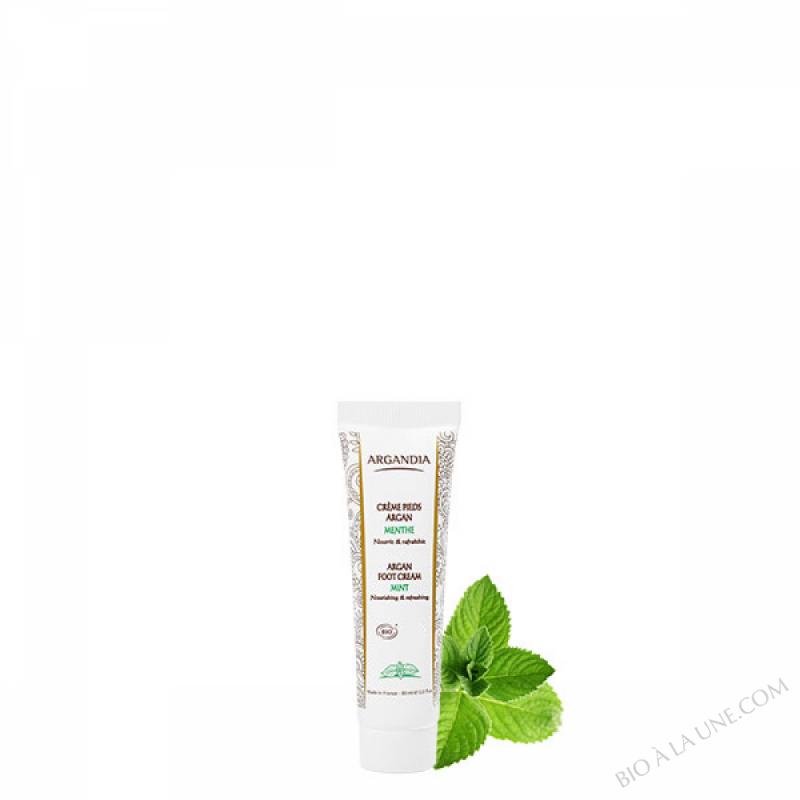 Crème Pieds Argan Menthe - 30 ml