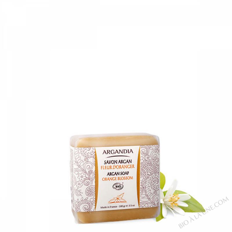 Savon Argan, Fleur d'Oranger - 100 g