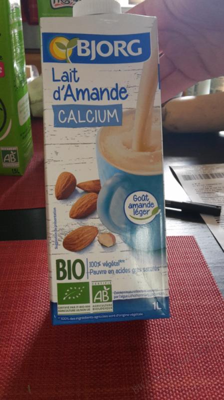 Lait D'amande Calcium - 1L