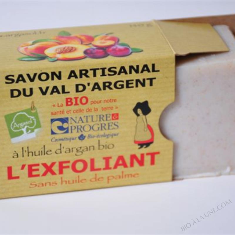 savon bio l'exfoliant Argasol 140g