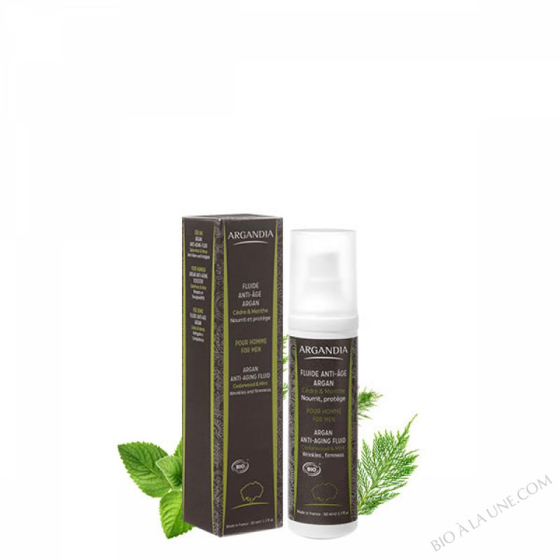 Fluide Anti-âge Argan Cèdre & Menthe - 50 ml