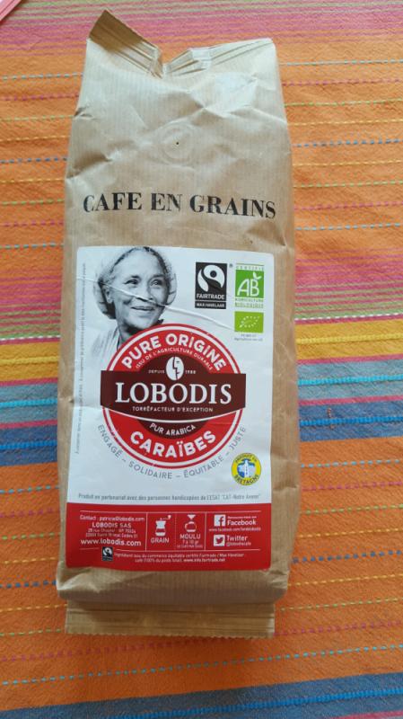 Café grain Caraïbes bio - 500g