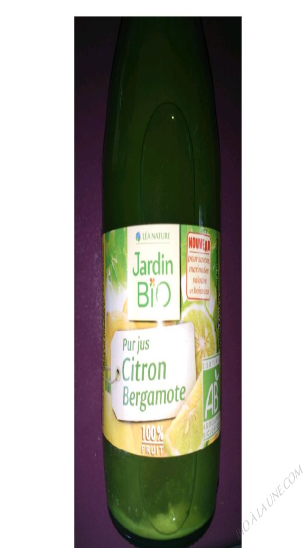 Jus Citron Bergamote