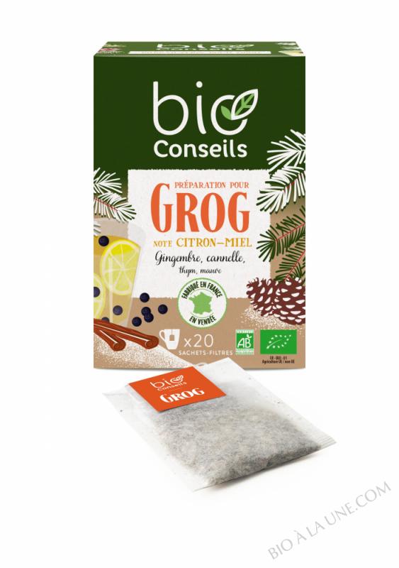 Infusion Préparation pour Grog Bioconseils - 20 sachets